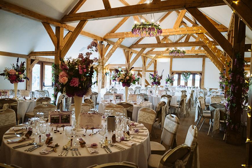 11 Romantic Wedding Venues For A Summer Celebration - Sandhole Oak Barn | CHWV