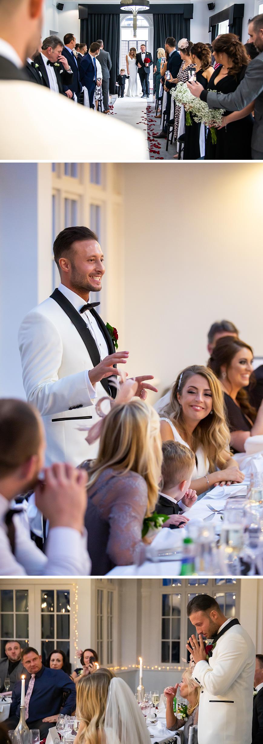 Real Wedding - Rose and David's Stylish Spring Wedding At Swynford Manor | CHWV