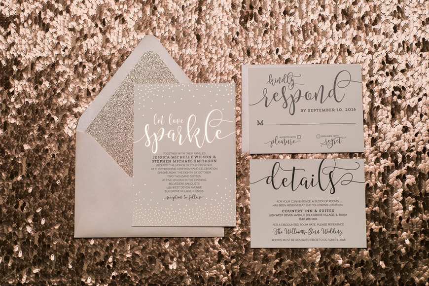 Wedding Ideas By Colour: Rose Gold Wedding Decorations - In the detail | CHWV