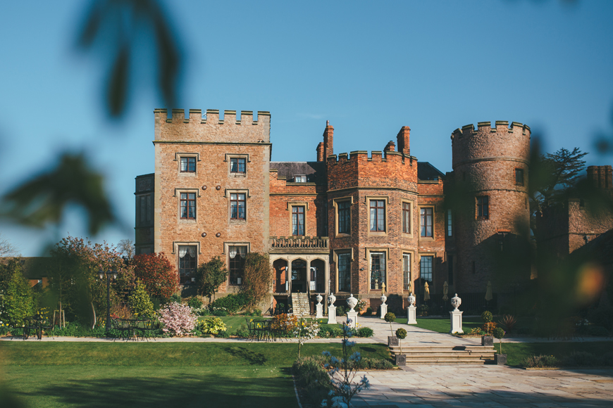 10 Incredible Wedding Venues In the West Midlands - Rowton Castle | CHWV