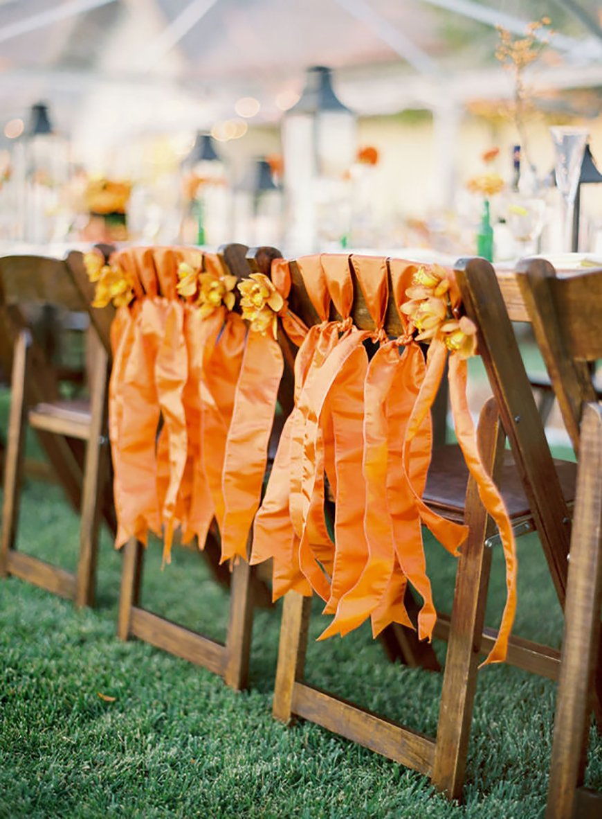 Wedding Ideas By Pantone Colour: Russet Orange - Details and decoration | CHWV