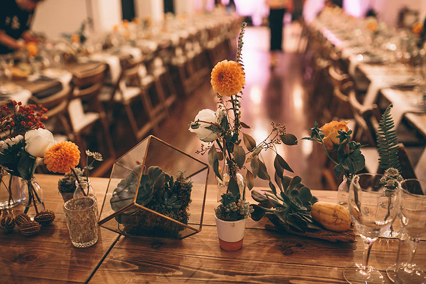Wedding Ideas By Pantone Colour: Russet Orange - Flowers, cakes and more | CHWV