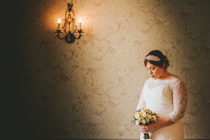 Real Wedding - Ruth and Steven's Art Deco Spring Wedding at Morden Hall | CHWV