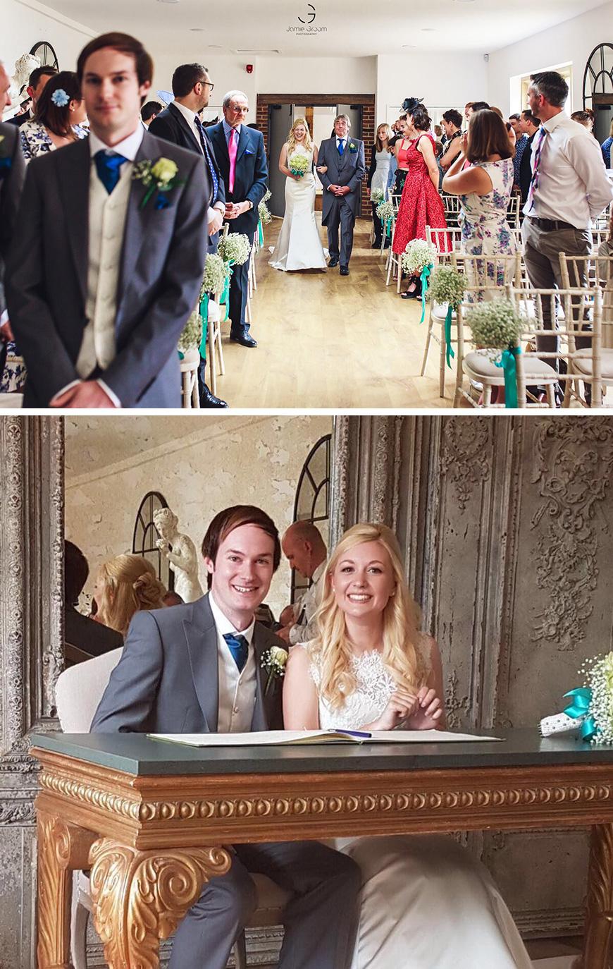 Real Wedding - Lucy and Ryan's Elegant Summer Wedding at Oxnead Hall | CHWV