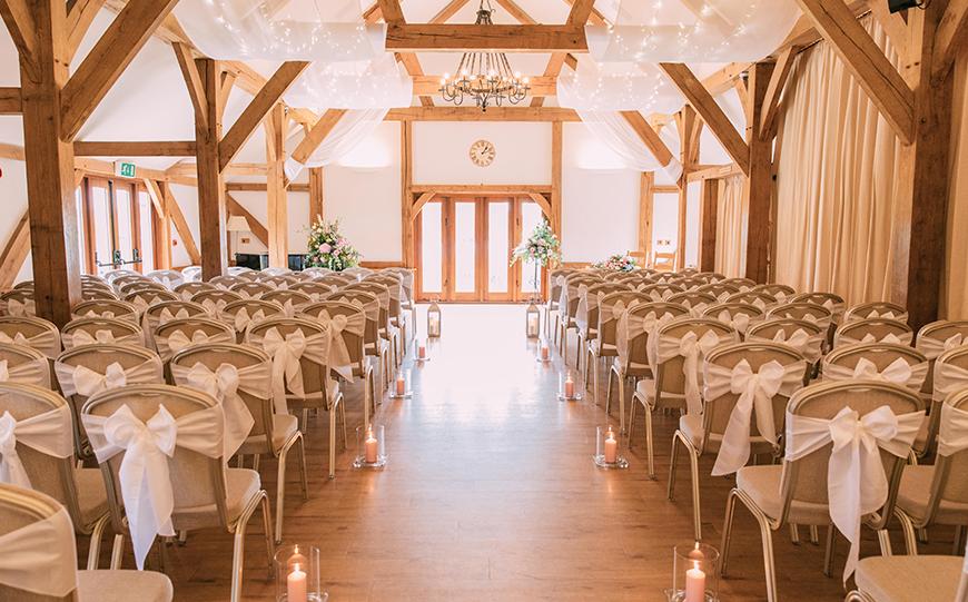 9 Unusual Wedding Venues For A Unique Day - Sandhole Oak Barn | CHWV