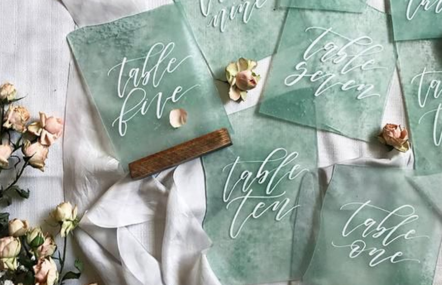Neo Mint Green Wedding Ideas - Sea Glass | CHWV