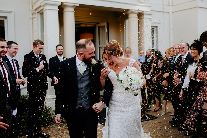 Real Wedding - Shelly and Gemmel's Fairytale Autumn Wedding at Morden Hall   CHWV