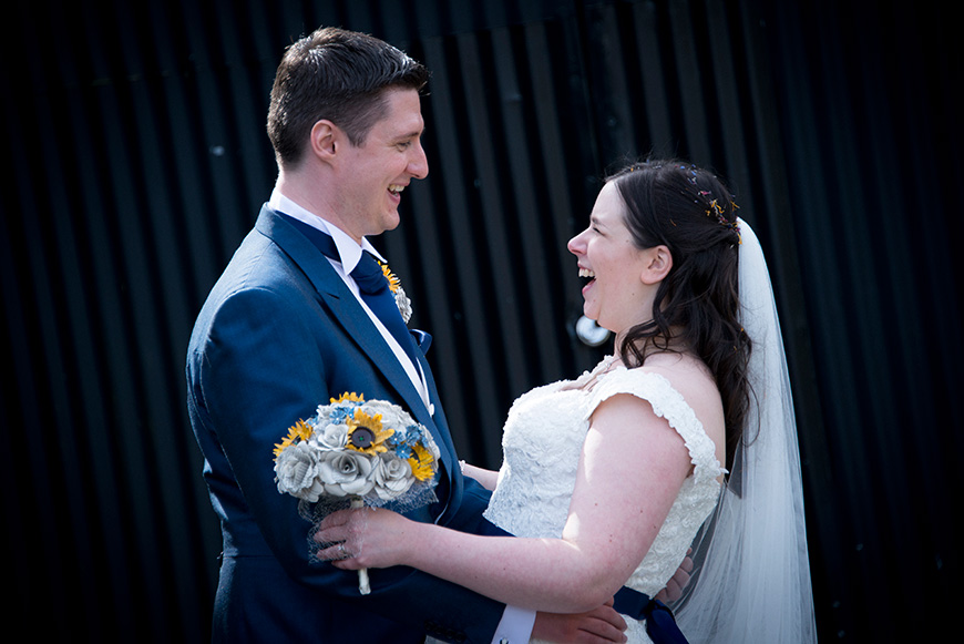 An Informal Afternoon Tea Celebration at Clock Barn - The happy couple   CHWV