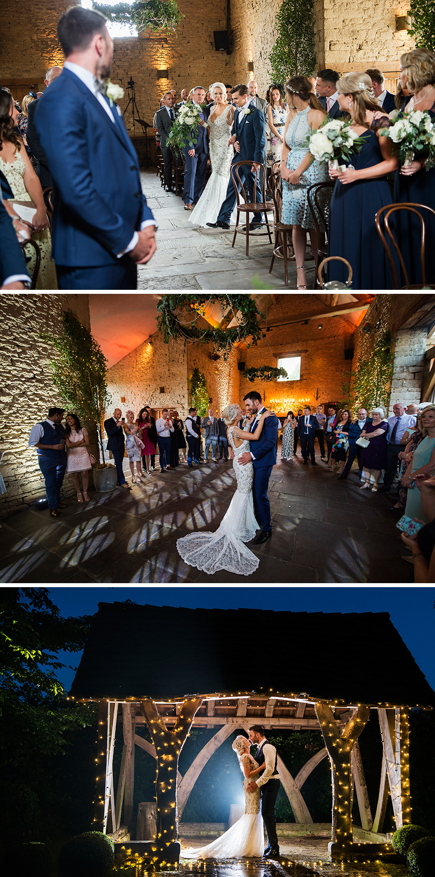 Real Wedding - Sky and Lee's Vintage Wedding At Cripps Barn - Moments | CHWV