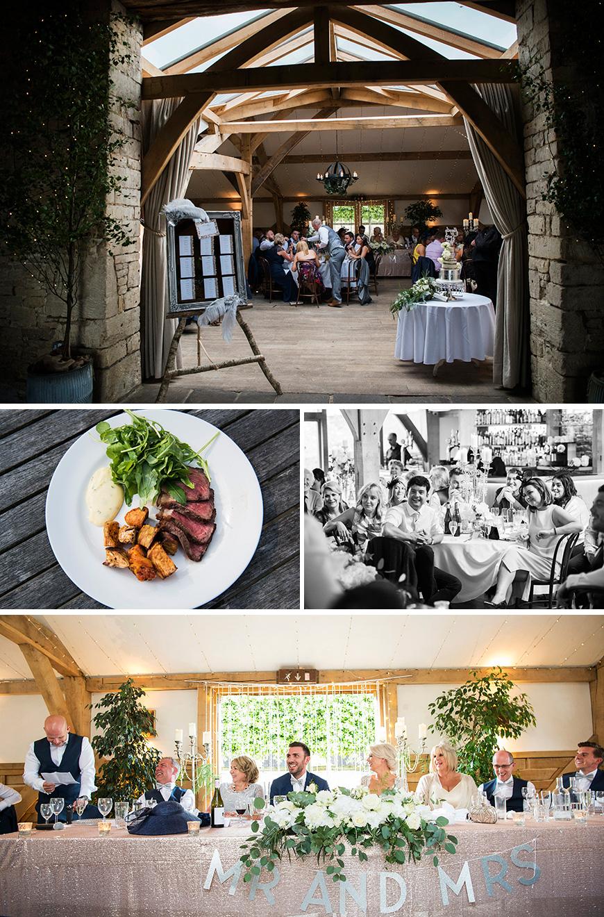 Real Wedding - Sky and Lee's Vintage Wedding At Cripps Barn - Reception | CHWV