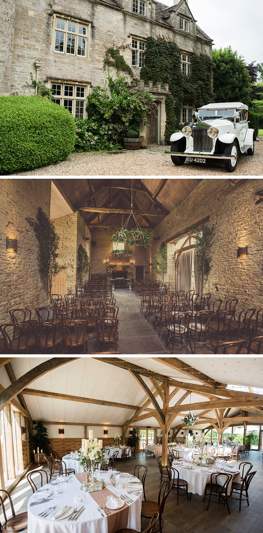 Real Wedding - Sky and Lee's Vintage Wedding At Cripps Barn - The venue | CHWV
