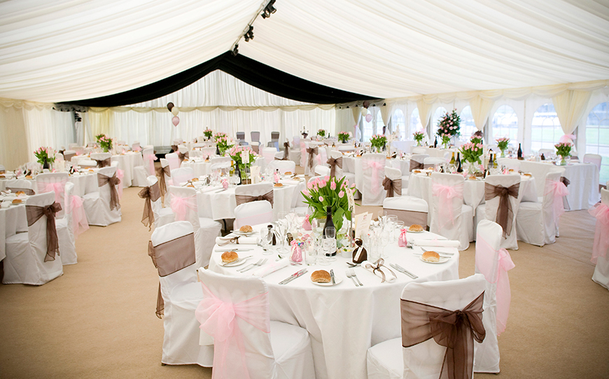 6 Marquee Wedding Venues That Really Stand Out - Slaugham Place   CHWV