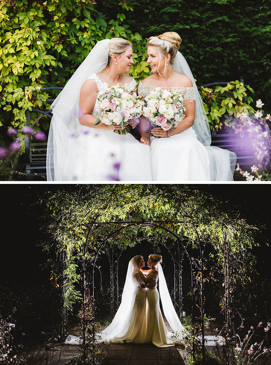 Real Wedding - Sophie and Beth's Elegant Autumn Wedding at Gaynes Park | CHWV