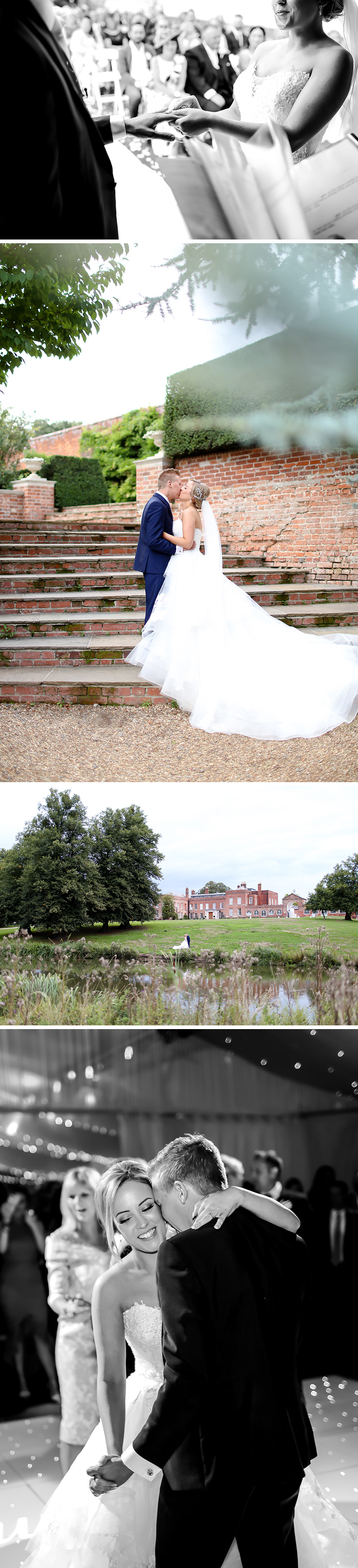 Real Wedding - Sophie and Tom's Champagne-Theme Wedding At Braxted Park | CHWV