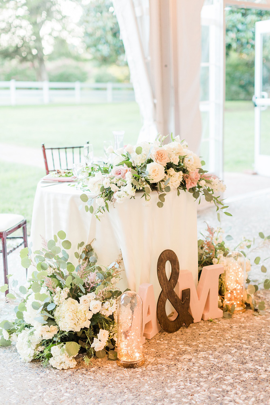 How To Spend Time Together On Your Wedding Day - Sweetheart table | CHWV