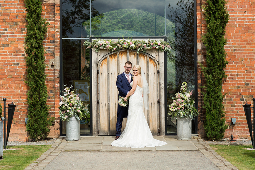 7 Stunning Staffordshire Wedding Venues - Shustoke Farm Barns | CHWV