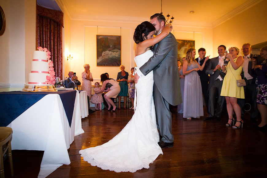 Steph and Daniel at Parkfields Country House first dance | CHWV