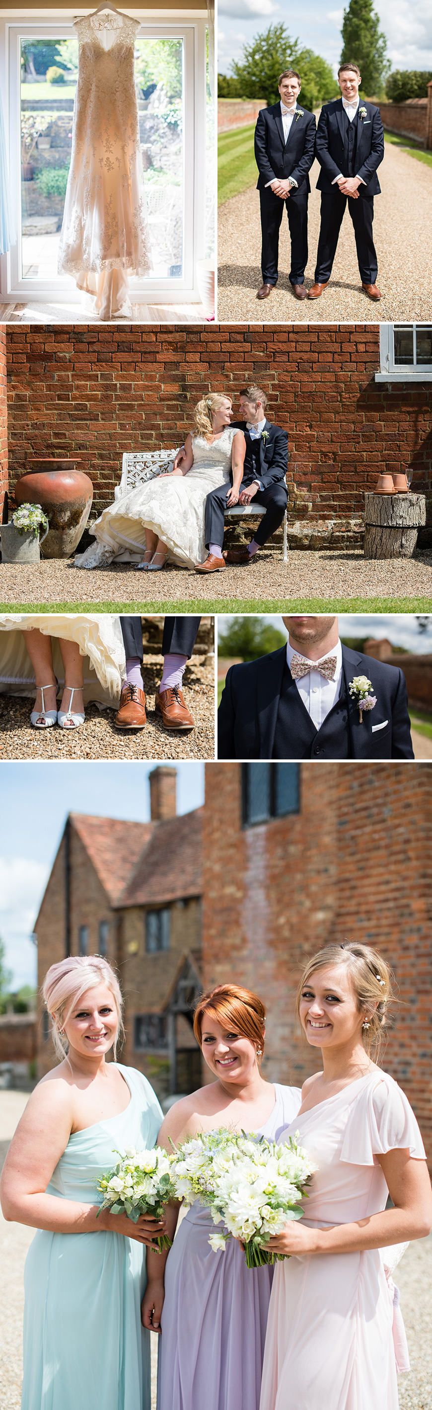 A Country Fair-Inspired Wedding at Lillibrooke Manor - The outfits | CHWV
