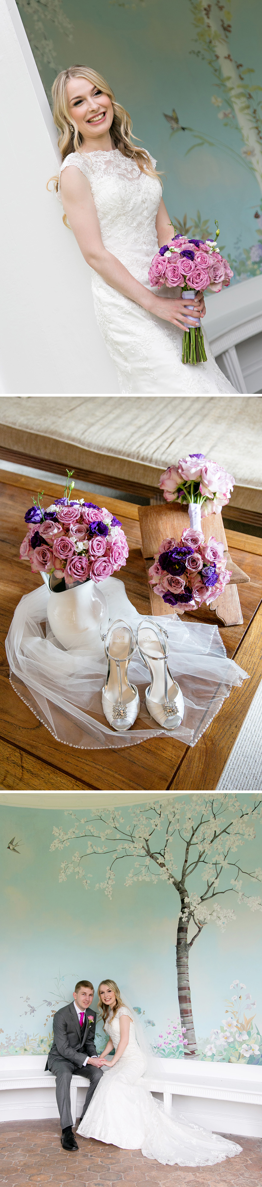 Real Wedding - Stephanie and James's Elegant Summer Wedding at Wasing Park   CHWV