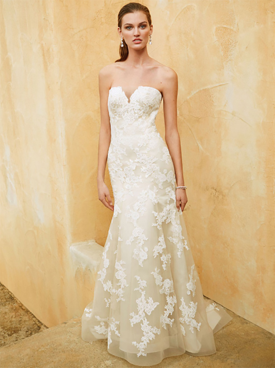 The best strapless dresses for your spring wedding