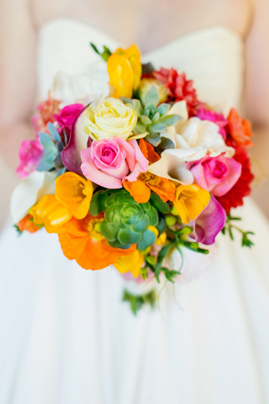 Stunning Colour Schemes For A Spring Or Summer Wedding - Pretty pinks and moss greens | CHWV