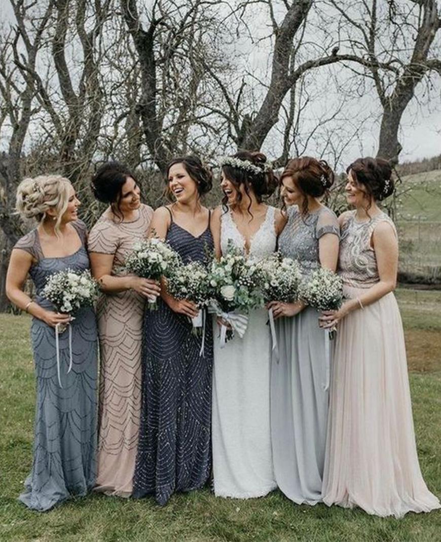 Stunning Colour Schemes For A Spring Or Summer Wedding - Subtle neutrals | CHWV