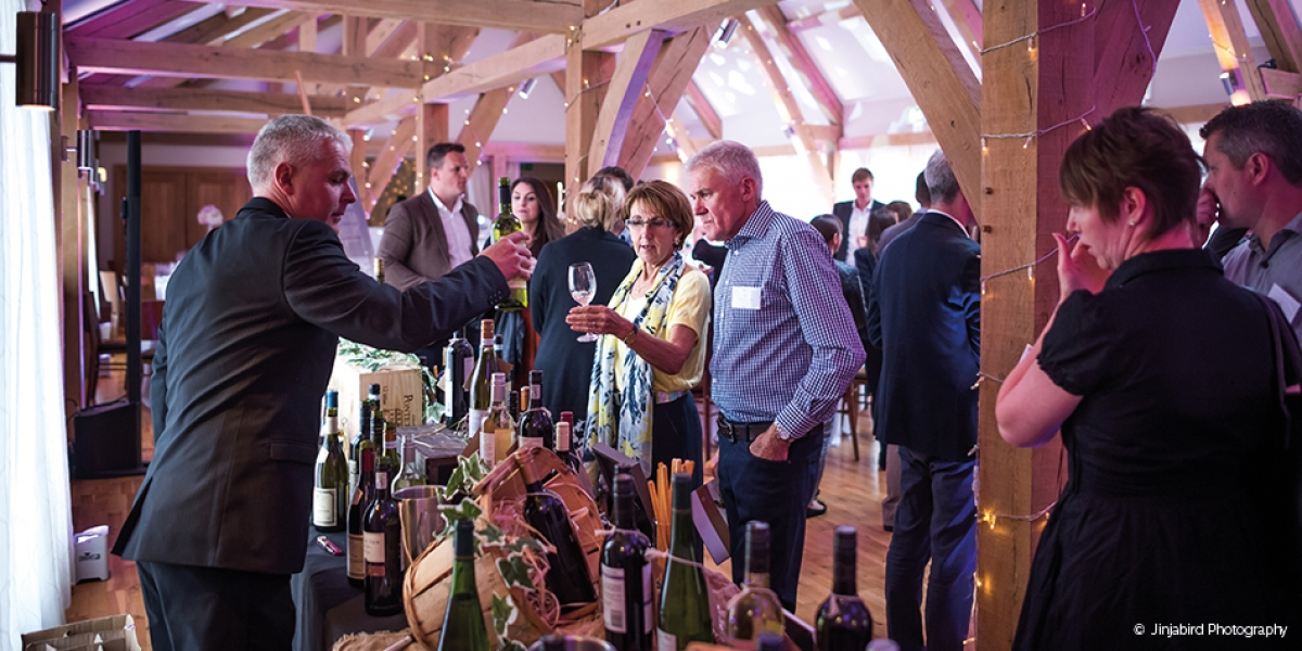 Mouth-Watering Tasting Event at Bassmead Manor Barns in Cambridgeshire | CHWV