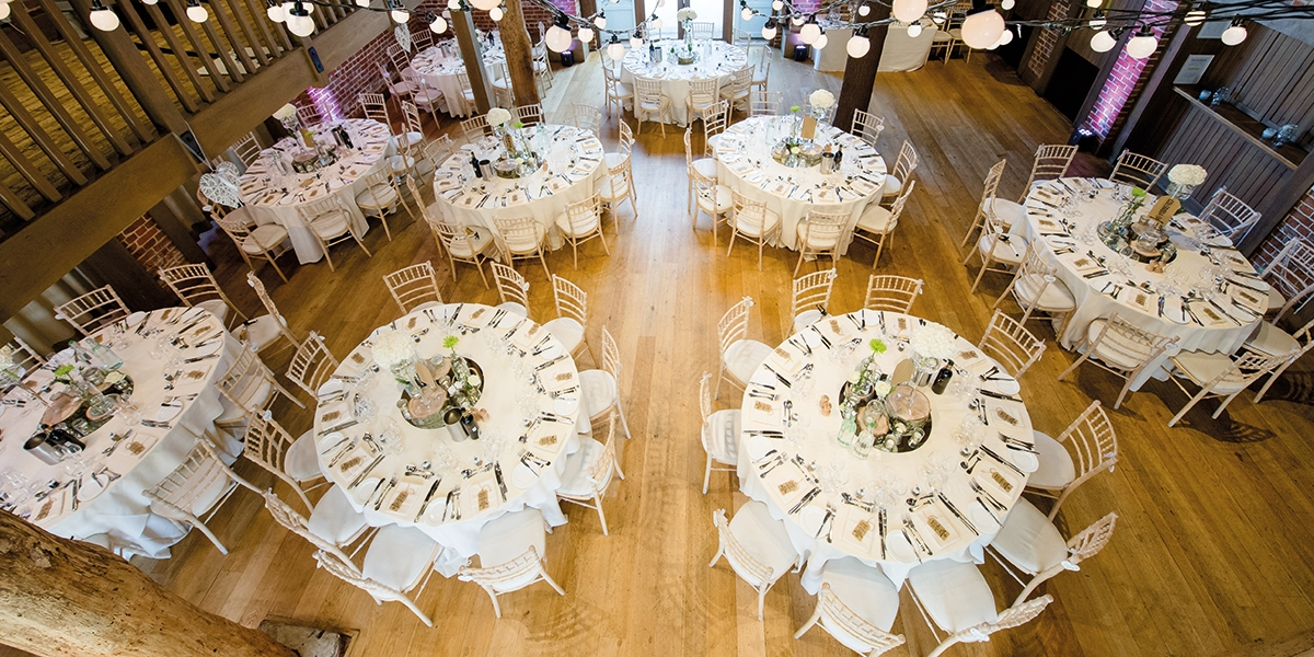 Stunning decor at gaynes park
