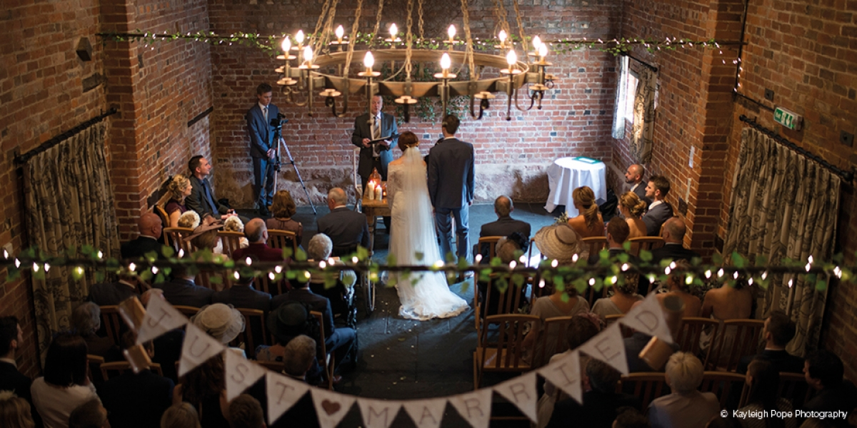 Nicola And Wills Special Day At Curradine Barns