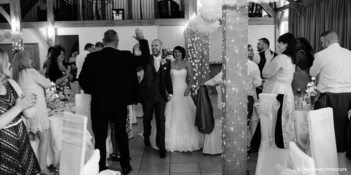 Charlie and Lee's wonderful wedding at Rivervale Barn | CHWV
