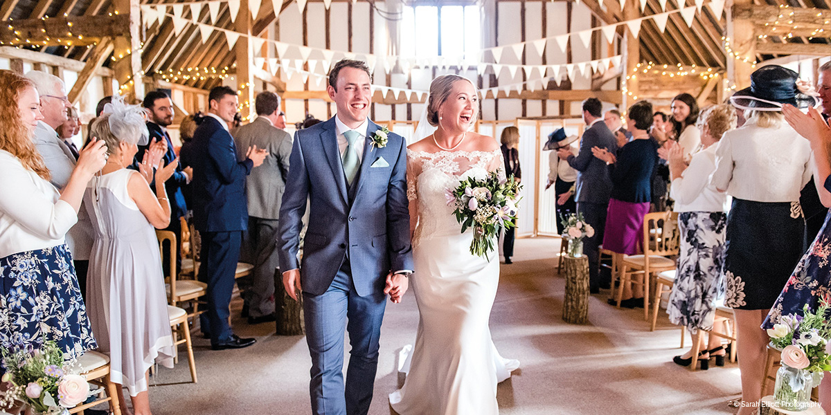 Clock Barn wedding venue in Hampshire - Wedding open event | CHWV