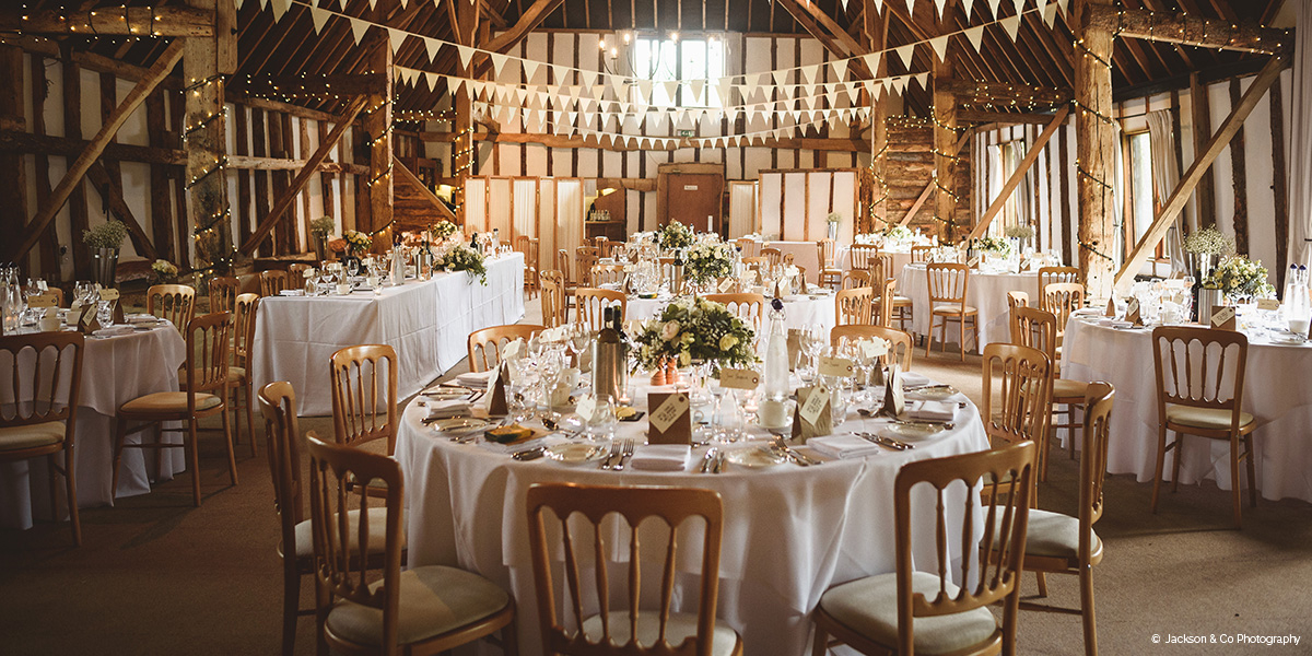 Clock Barn wedding venue in Hampshire - 2018 Last minute wedding dates | CHWV