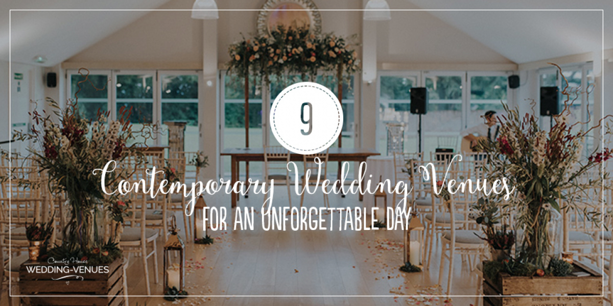 9 Contemporary Wedding Venues For An Unforgettable Day | CHWV