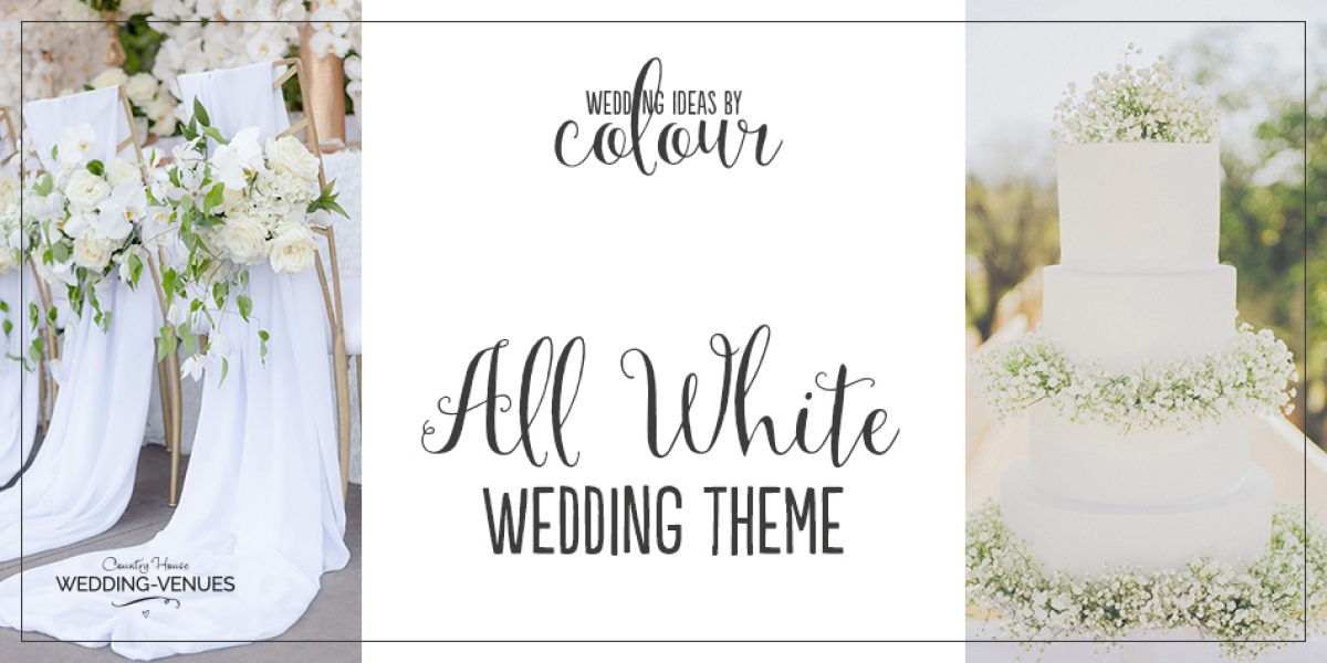 Wedding Ideas by Colour: All White Wedding Theme | CHWV