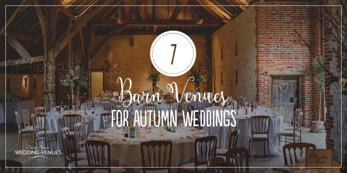 7 Barn Wedding Venues that are Perfect for an Autumn Wedding | CHWV