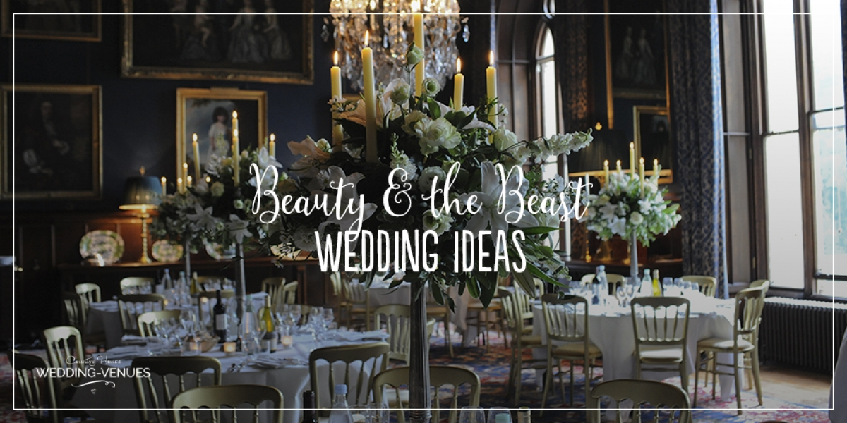 Beauty and the Beast themed wedding inspiration | CHWV