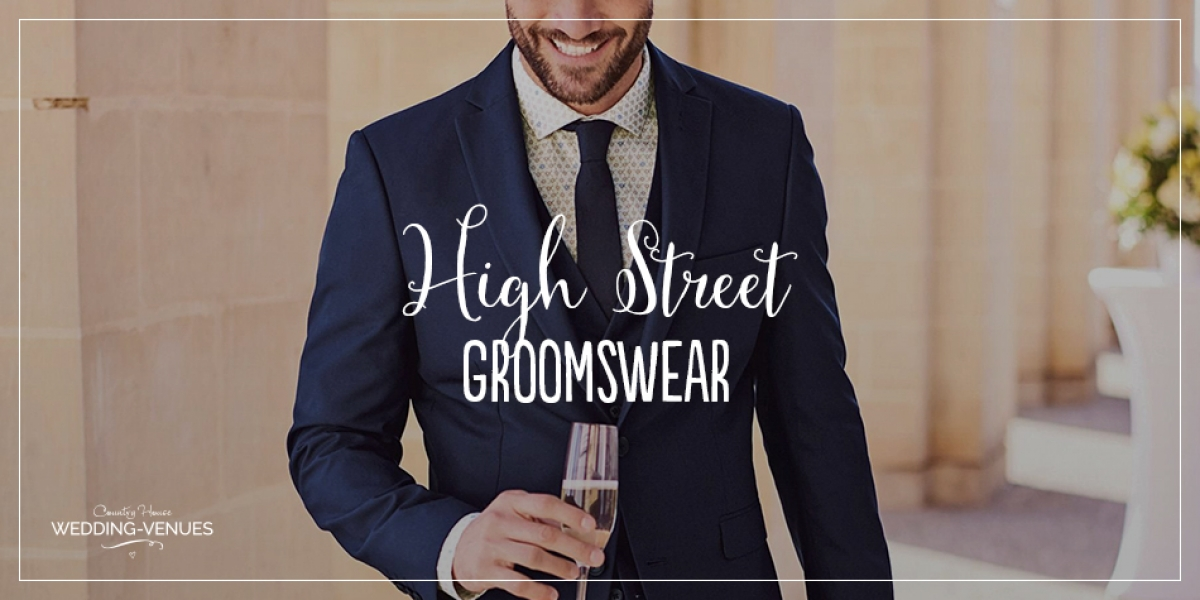 The Best High Street Groomswear For The Perfect Style | CHWV