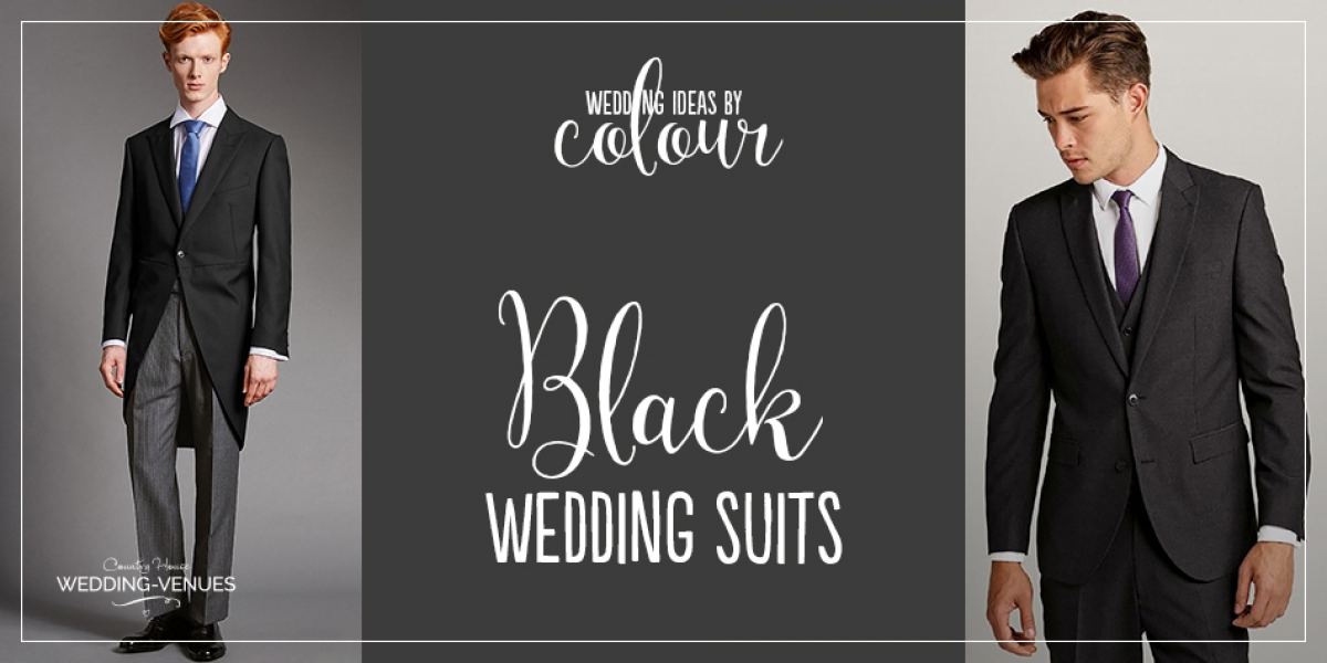 Wedding Ideas by Colour: Black Wedding Suits | CHWV