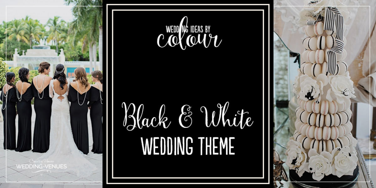 Wedding Ideas by Colour: Black and White Wedding Theme | CHWV