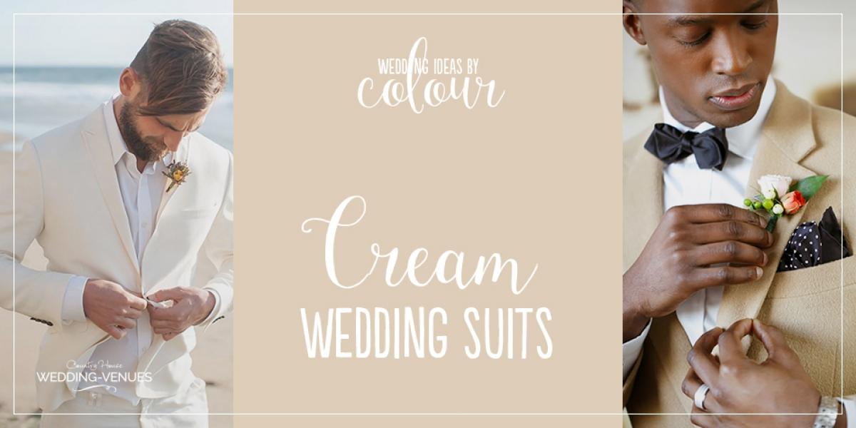 Weddings Ideas by Colour: Cream Wedding Suits | CHWV
