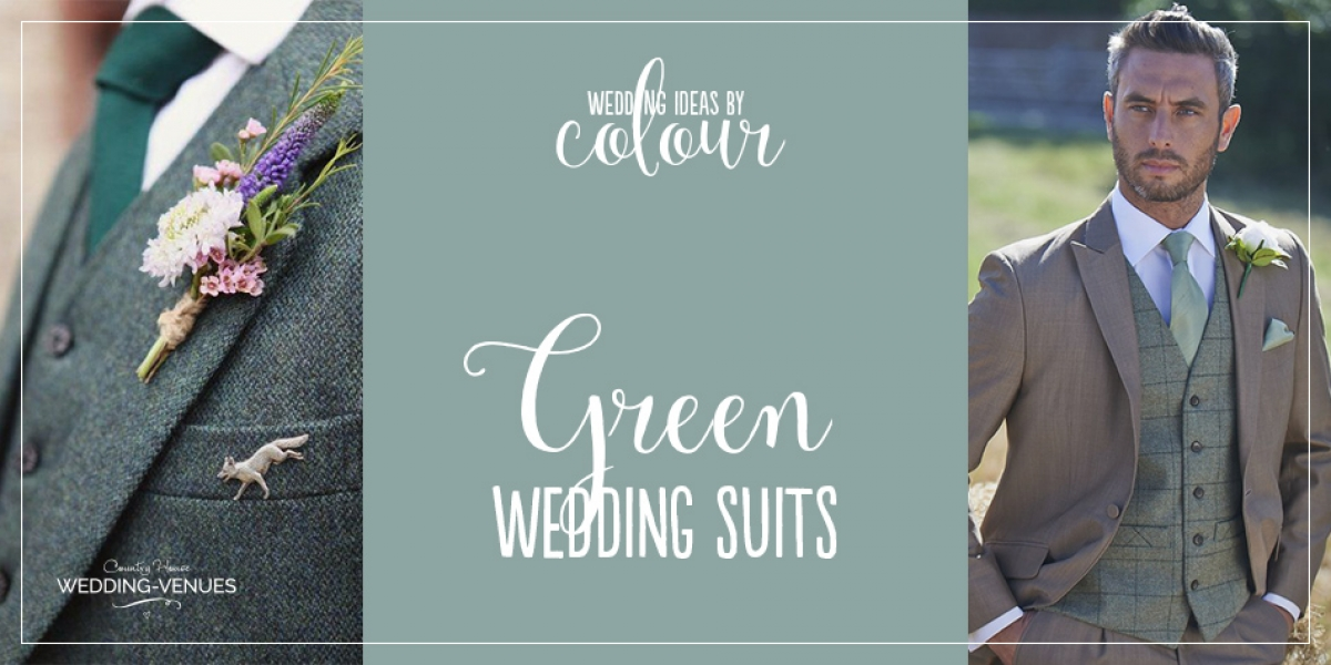 Wedding Ideas by Colour: Green Wedding Suits | CHWV