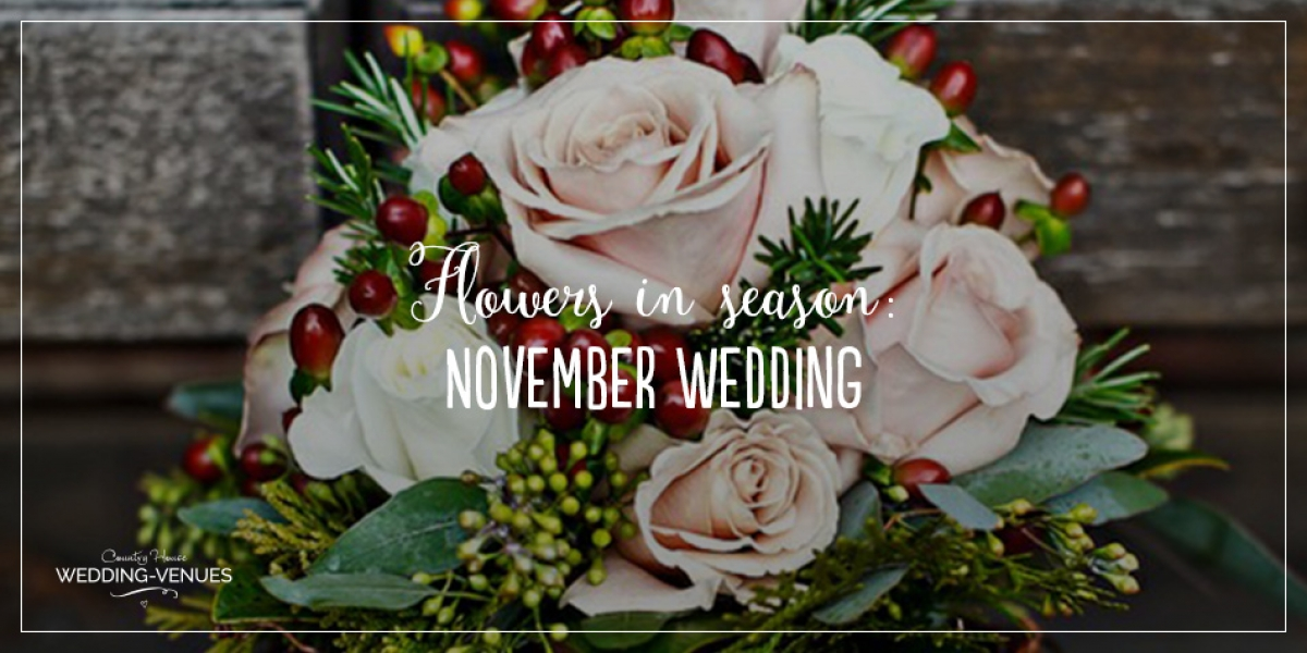 Wedding Flowers In Season: November Wedding | CHWV