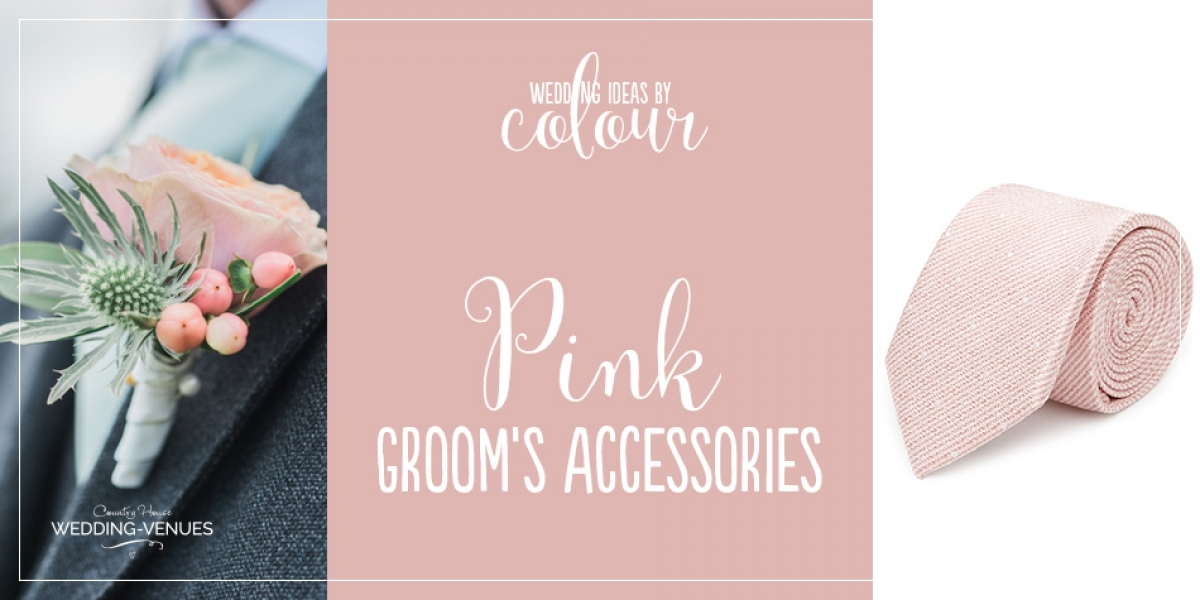 Wedding Ideas By Colour: Pink Groom's Accessories | CHWV