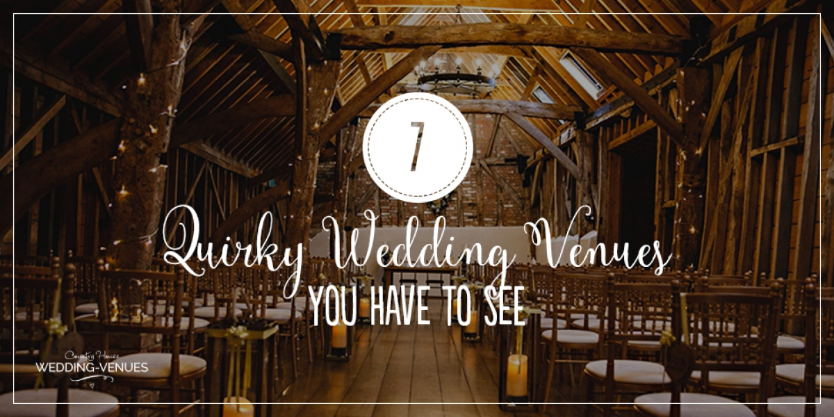 7 Quirky Wedding Venues That You Have To See | CHWV