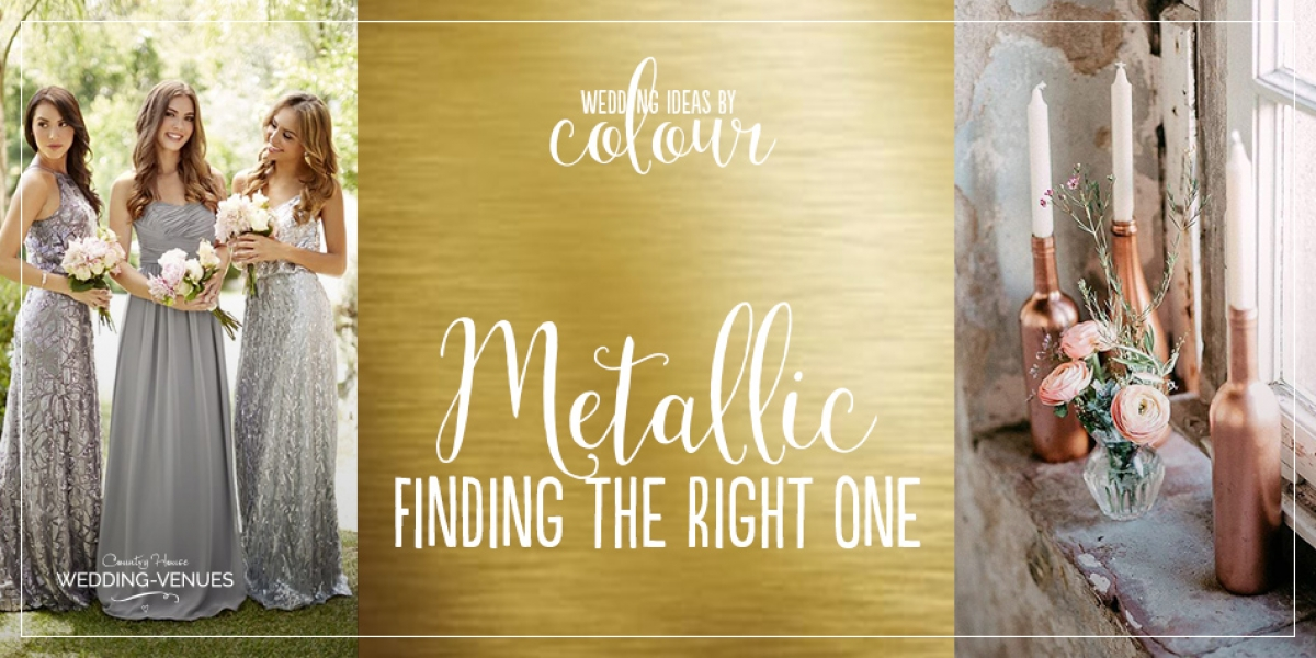 Find The Right Metallic For Your Wedding | CHWV