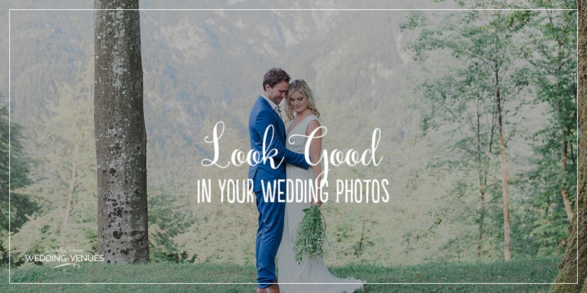 How To Look Good In Your Wedding Photos | CHWV