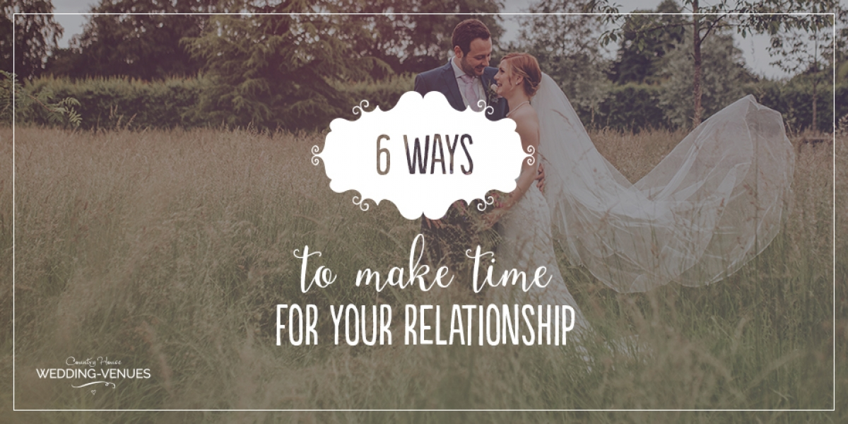 6 Ways To Make Time For Your Relationship During Wedding Planning | CHWV