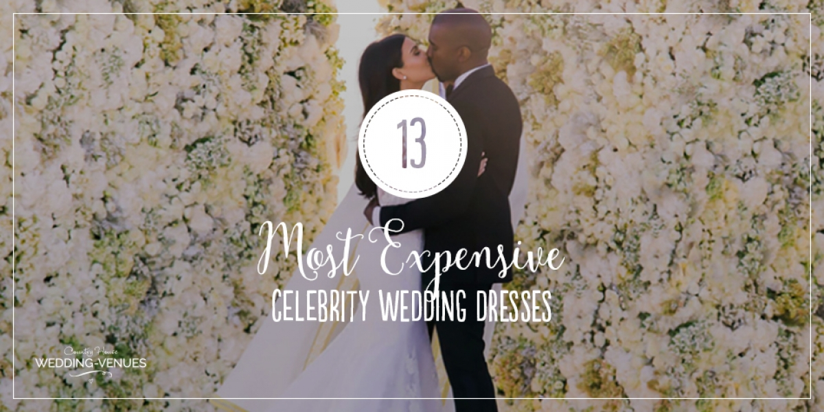 13 Of The Most Expensive Celebrity Wedding Dressess | CHWV