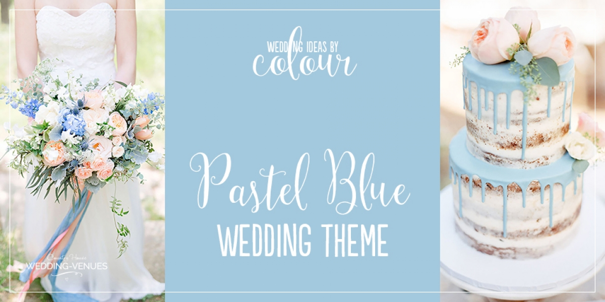 Wedding Ideas By Colour: Pastel Blue Wedding Theme | CHWV