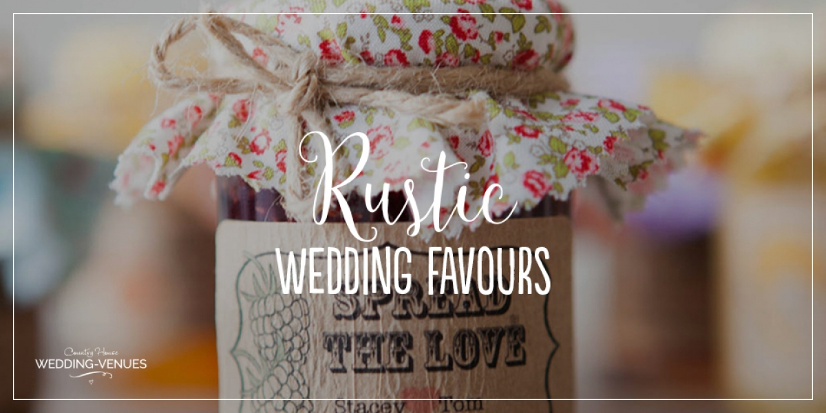 How To Give The Perfect Rustic Wedding Favours | CHWV